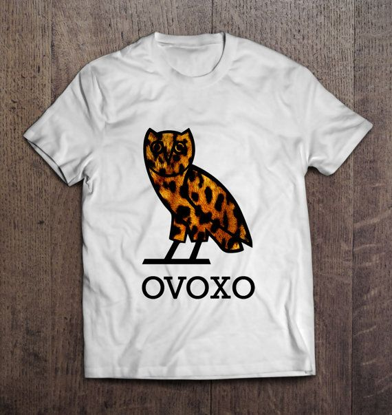 OVOXO Leopard Men Women T Shirt Drake October's Very Own YMCMB Birthday Gift Present on Etsy, $12.99