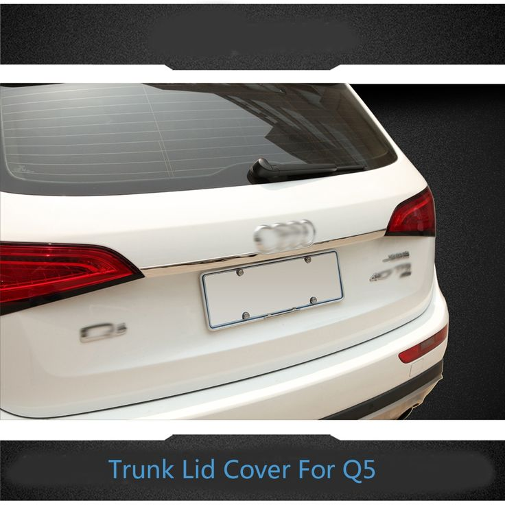 53.67$  Buy now - http://aliyob.shopchina.info/go.php?t=32443792151 - High quality stainless steel chrome trunk lid cover trim tail door molding for 2009 2010 2011 2012 2013 2014 Audi Q5 53.67$ #aliexpress
