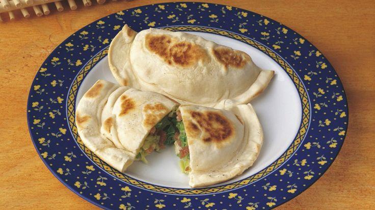 Calzoni con pancetta e verza