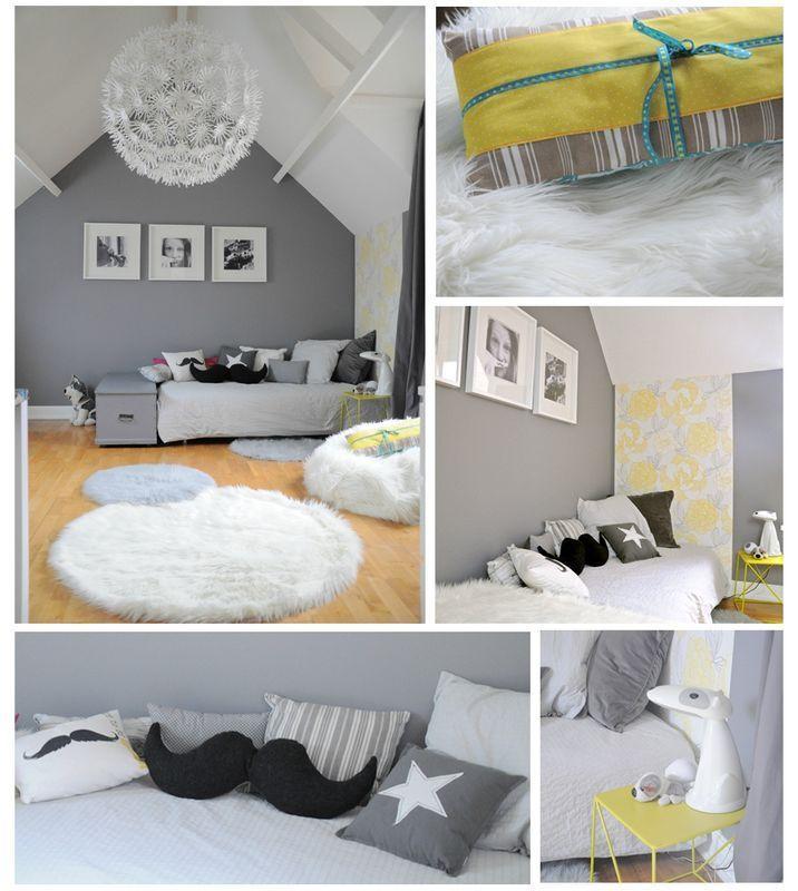 les 25 meilleures id es concernant chambres tumblr sur pinterest inspiration chambre tumblr. Black Bedroom Furniture Sets. Home Design Ideas