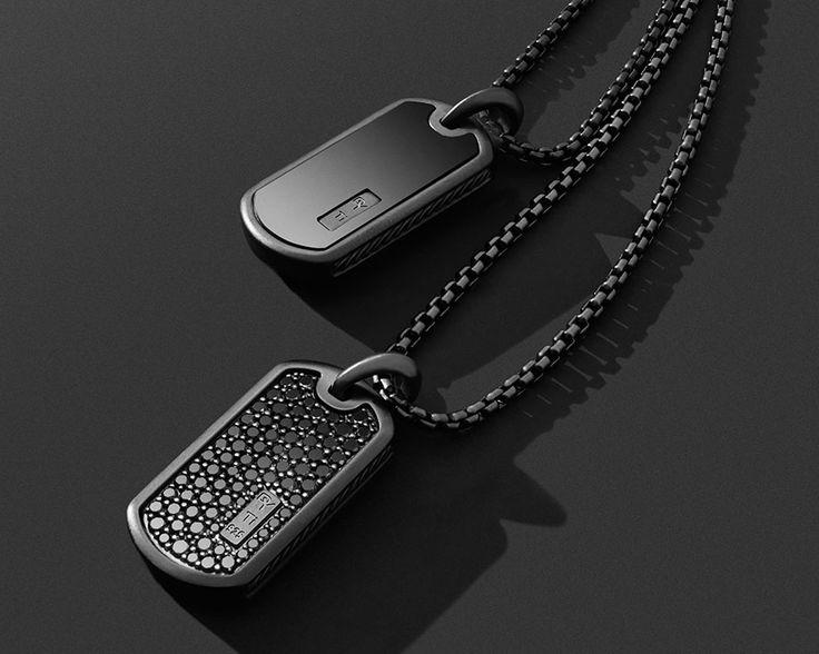 Sponsored: Black titanium tags capture city style.