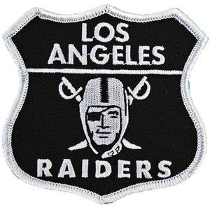 Los Angeles Raiders Patch