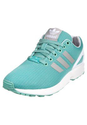 ZX FLUX - Joggesko - fade ocean/solid grey/white