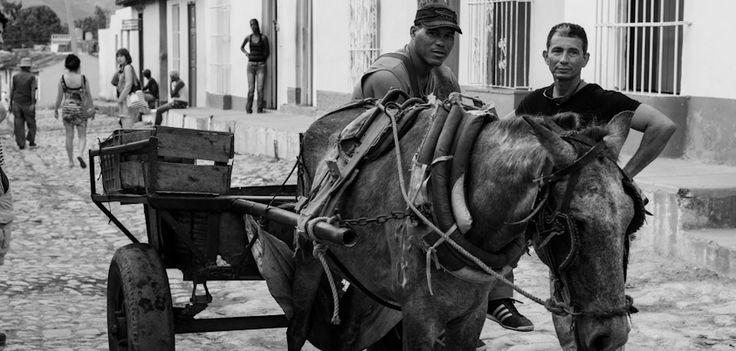 The Onion Seller - Trinidad - Cuba