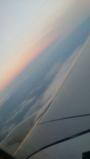 In aereo verso Trieste