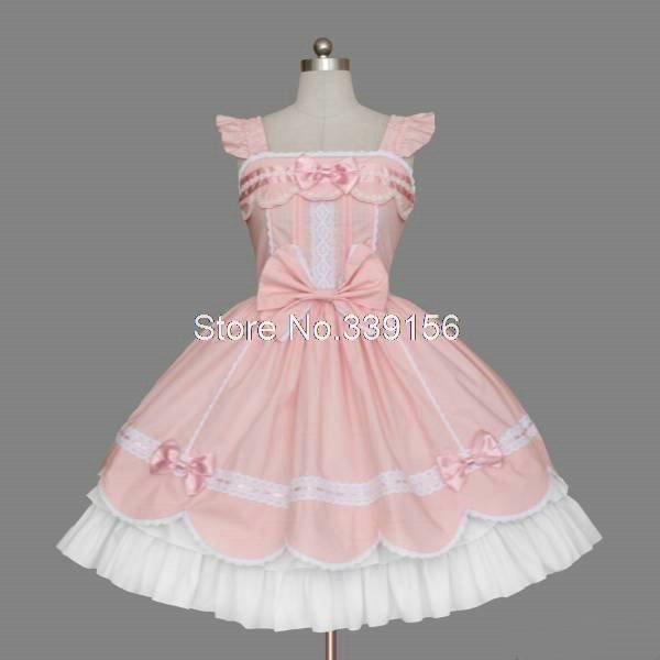 Niñas baratos lindos trajes de princesa pink gothic lolita partido mujeres bud sweet vestidos al por mayor en Vestidos de Ropa y Accesorios de las mujeres en AliExpress.com | Alibaba Group