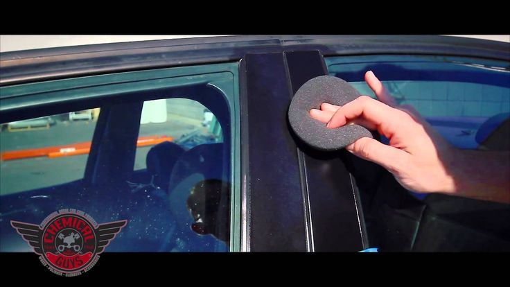 How To: Restore Plastic Trim - Chemical Guys Trim Gel Detailing Car Care