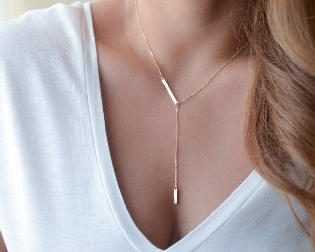 Lariat love / seems we are not the only ones in love with this necklace right now!