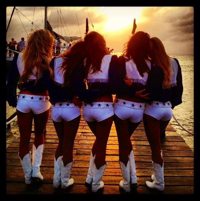 Dallas Cowboy Cheerleaders #GreatShot