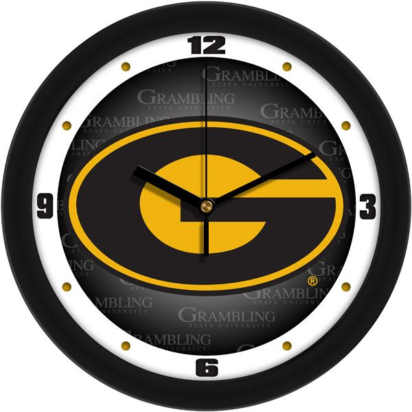 Mens Grambling State University Tigers   Dimension Wall Clock Part 64