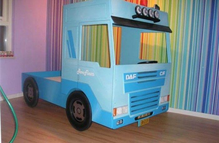 vrachtwagen bed