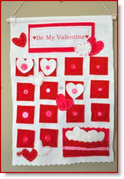 Valentine Calendar Ideas : Best images about holidays valentines countdown on