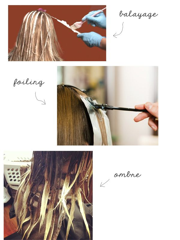 The Small Things Blog: Foiling vs. Balayage vs. Ombre