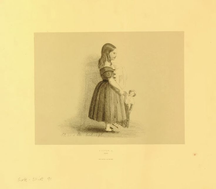 Рисунки королевы Виктории  museum_cdm September 9th, 15:26 Рисунки королевы Виктории  museum_cdm September 9th, 15:26 Оказывается, королева Виктория любила рисовать. Вот две литографии из коллекции Британского музея. В своем дневнике 2 февраля 1846 года королева записала: «Начала вырезать набросок Вики < старшая дочь — принцесса Виктория > и занималась с ней уроками».   Принцесса Виктория с куклой (1846): http://museum-cdm.livejournal.com/9314.html