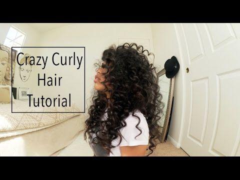 Straw Curls Method 5 No heat Spiral Curls Plus an Update - YouTube