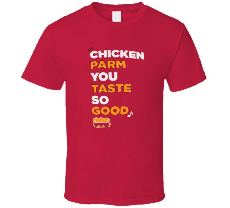 Peyton manning chicken parm you taste so good t shirt t