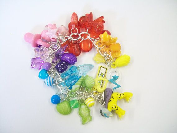 Pokemon Raikou Charm Bracelet - Rainbow - Clearance Sale