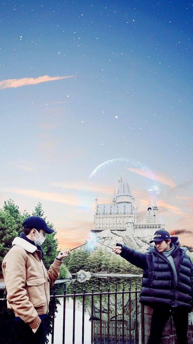 Chanyeol & Sehun EXO wallpaper lockscreen