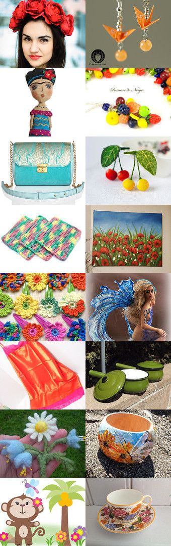Summer Colors by Annie on Etsy--Pinned with TreasuryPin.com