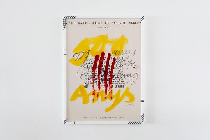 Antoni Tàpies / XXIII FIRA DEL LLIBRES D´OCASIÓ ANTIC I MODERN|Delivery Works MODEL