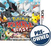 Pokémon Rumble Blast - PRE-Owned - Nintendo 3DS, Multi