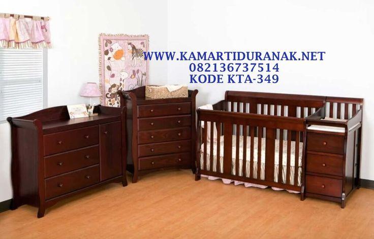 Inspirasi Kamar Tidur Bayi, Furniture Bayi Murah, Tempat Tidur Bayi, Set Box Bayi Mahoni Multifungsi, Ranjang Bayi Multifungsi Laci Laci