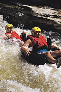 When the kids are bigger: GRCA - Parks - Elora Gorge - Elora tubing