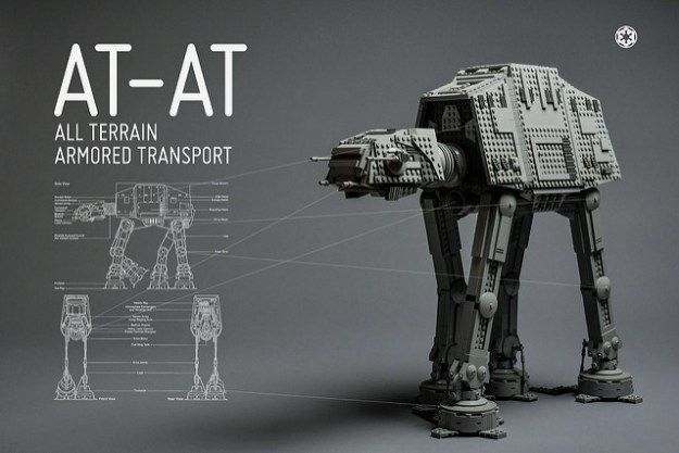 Stunning Star Wars vehicle specifications in LEGO