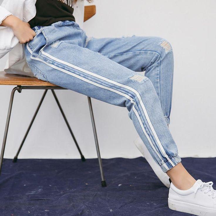 Harem Strip Vintage Pants -$30.98 ,  For more discount Click website. FREE SHIPPING... https://marilynrose.shop/collections/pants/products/harem-strip-vintage-pants