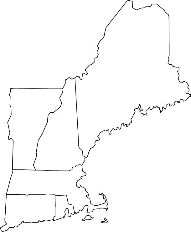 New England Pride! A design including the New England states would ...