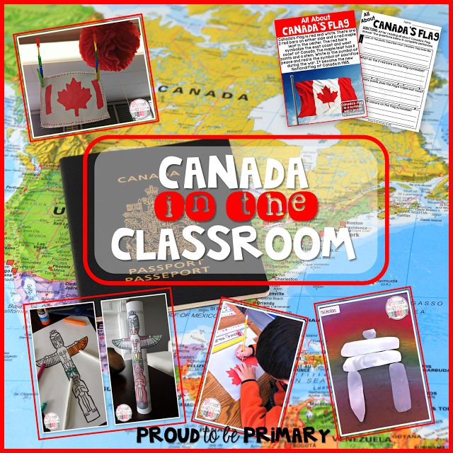 Check out Proud to be Primary's post about teaching Canadian symbols in the classroom! Tons of art activities, book suggestions, and products to fulfill your needs for this social studies unit. www.proudtobeprimary.com