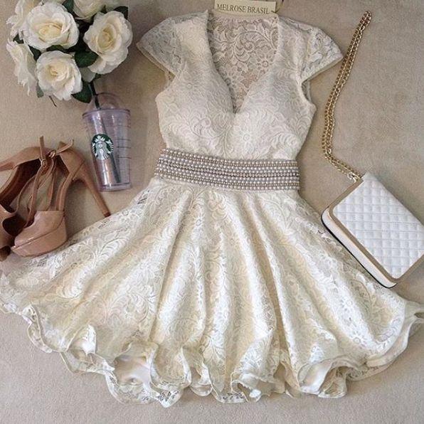 Vestido lindo para noivado ou casamento no civil instagram: https://www.instagram.com/p/BJwU9NAggvT/?taken-by=melrosebrasil