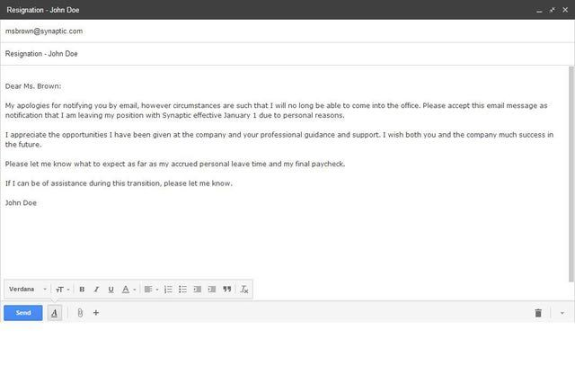 Best Formats for Sending Job Search Emails - fresh relieving letter format pdf file