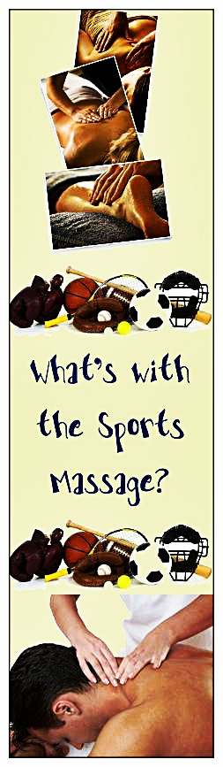 Sports Massage Is A Special Form Of Massage And Is Typically Used
