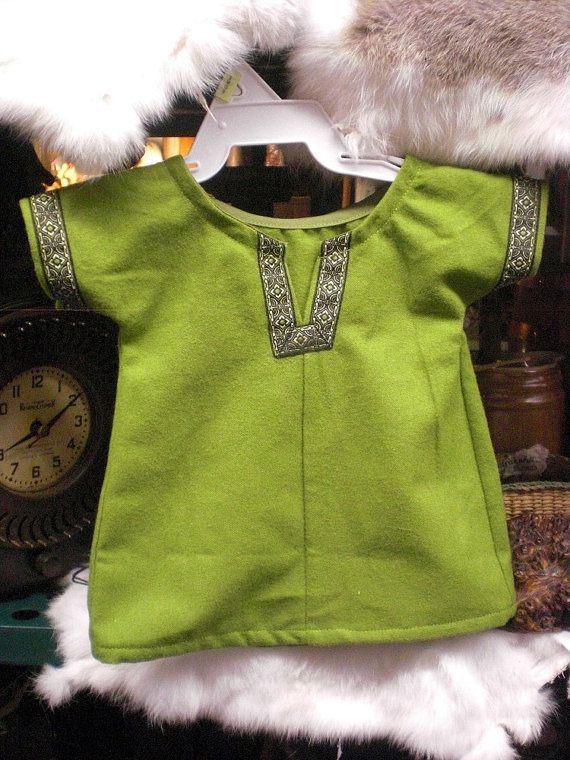 Simple Medieval Tunic  Newborn Baby by MossyRoseCB on Etsy, $16.00