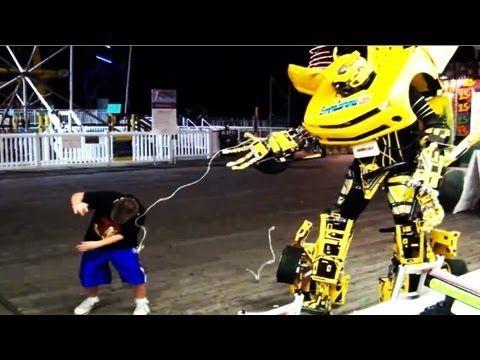 Dope Japanese Inventors Create Real Life Transformer ! Transformers en vrai ! [@News Be Like ] - YouTube
