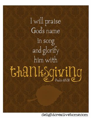 FREE Printables - Thankful, Thanksgiving printables, fall printables, bible verse printables ~ DelightCreativeHome