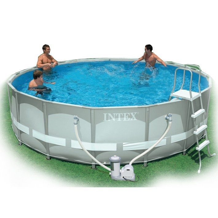 Les 25 meilleures id es de la cat gorie piscine tubulaire for Piscine demontable intex