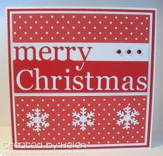 Memory Box Grand Merry Christmas + cards - Google Search