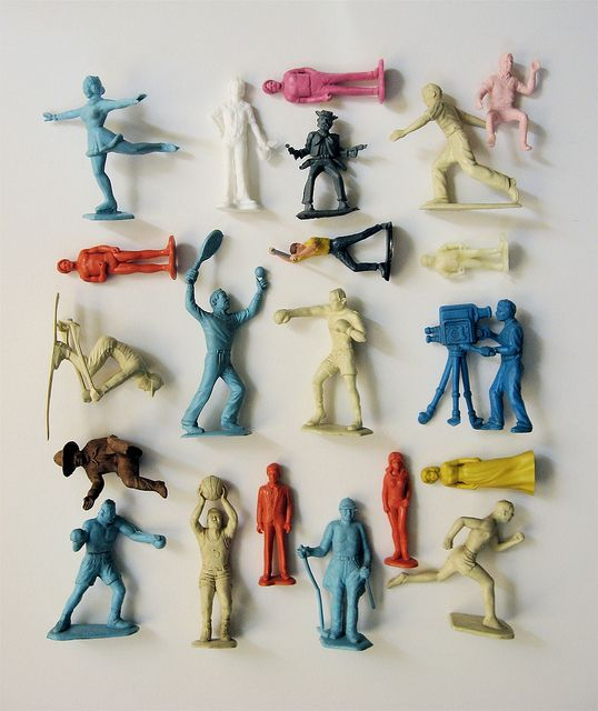 plastic people by bricolagelife: Flickr, Plastic Toys, Bricolagelife, Plastic People, Plasticpeople, Photo, Collections, Kids Toys