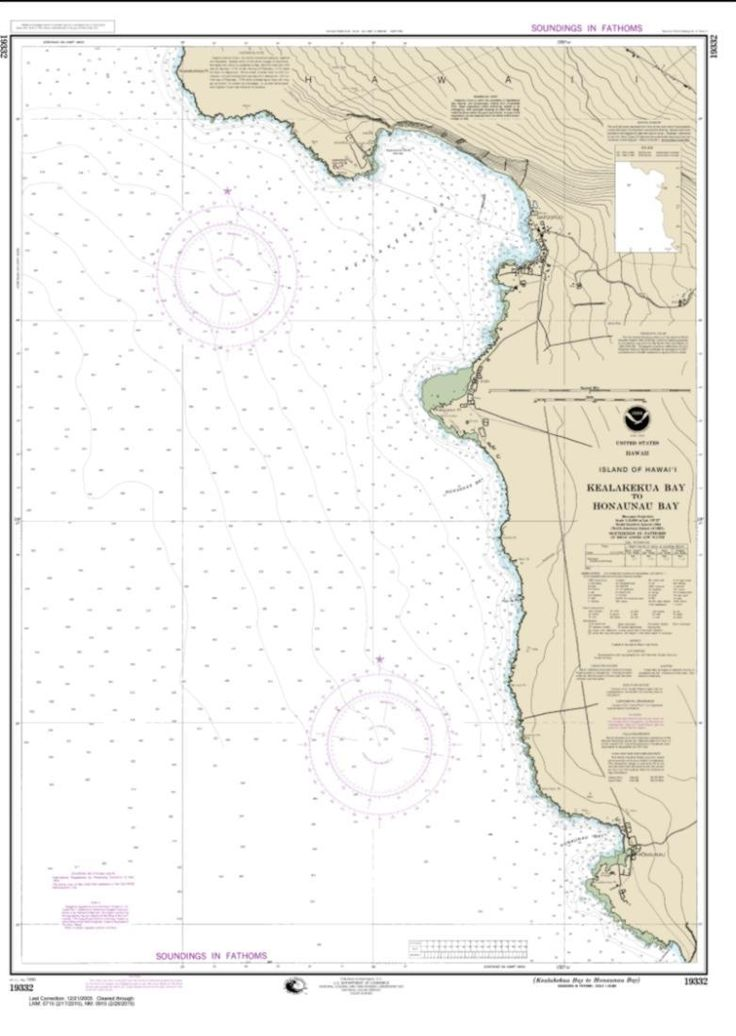 Kealakekua Bay to Honaunau Bay (19332-8) by NOAA