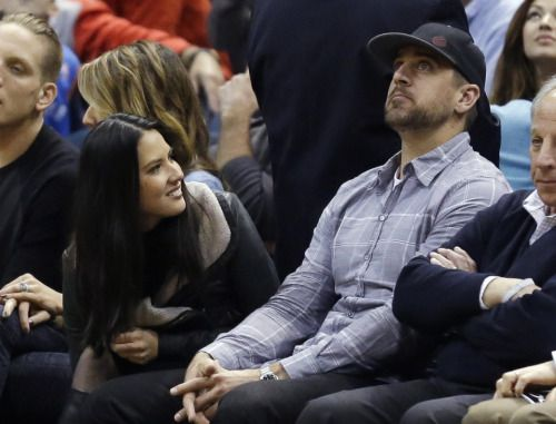 Green Bay Packers' Aaron Rodgers engaged? Girlfriend... #GreenBayPackers: Green Bay Packers' Aaron Rodgers engaged?… #GreenBayPackers
