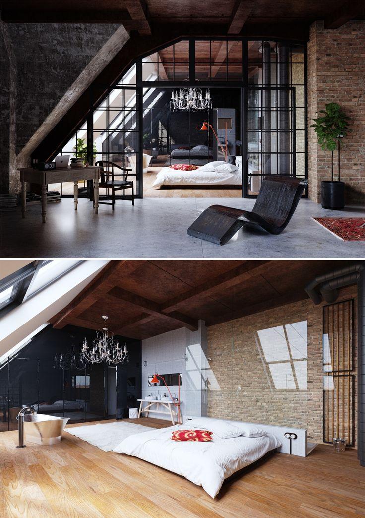 Loft space & interior