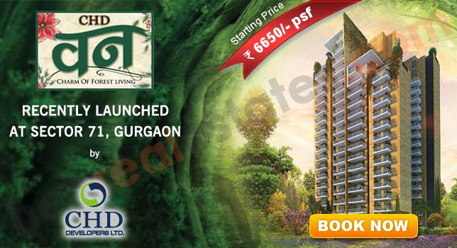 CHD Vann project is a upcoming project in Gurgaon sector 71.Chd Vann project is a residential and commercial project in Gurgaon. CHD Vann project is provide luxury facility and services.do you want a luxury apartment so CHD Vann Gurgaon is best project in Gurgaon