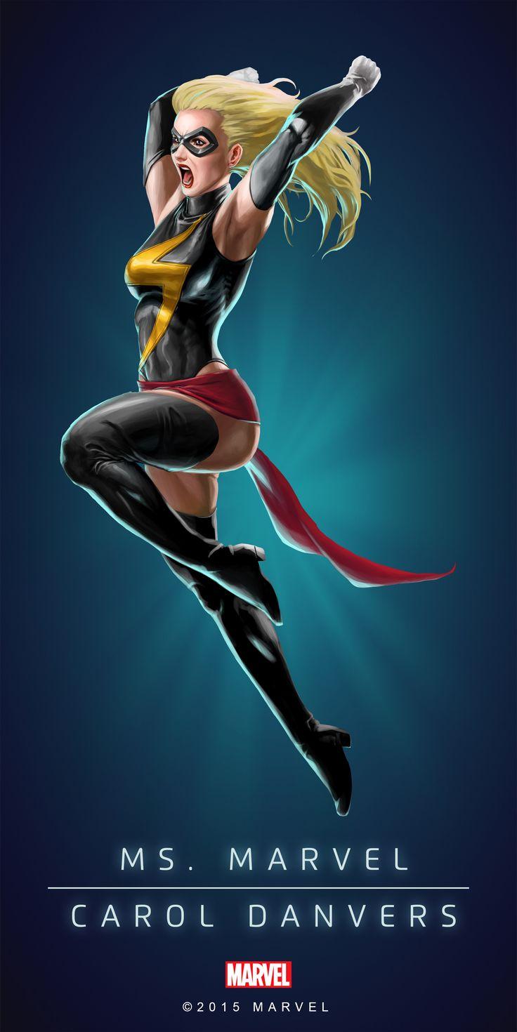 Carol Danvers Ms Marvel Poster-04                                                                                                                                                                                 More