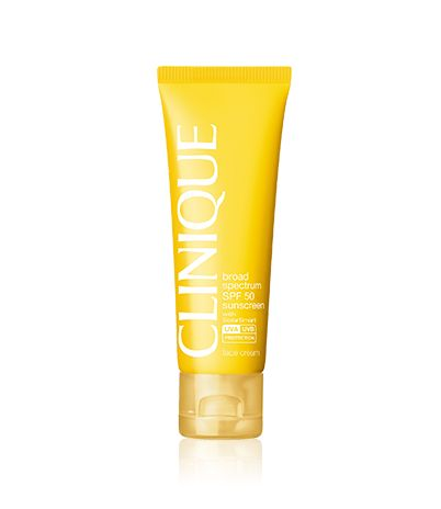Clinique Sun Broad Spectrum SPF 50 Sunscreen Face Cream | Skin Type 4 Oily Skin