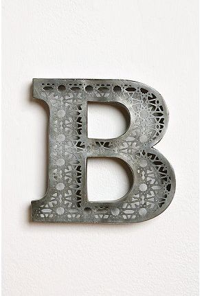 B, letter