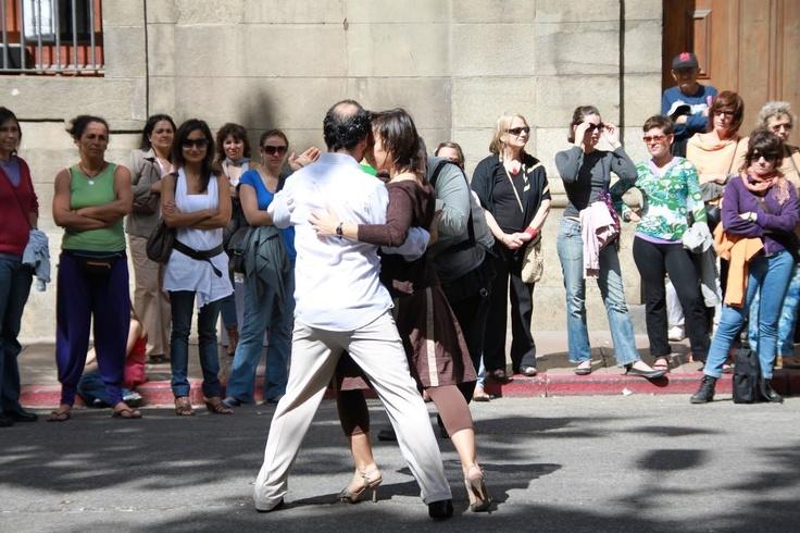 URUGUAY Dancing Tango-   They do it for fun.