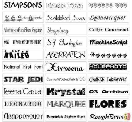 14 Best Images About Fontes On Pinterest Fonts
