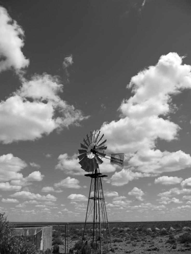 Windmills in the Karoo
